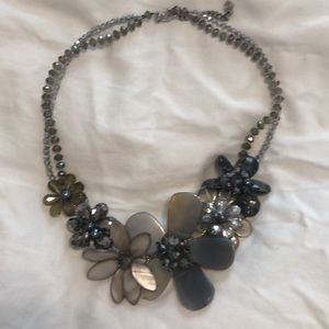 EUC Nakamol floral statement necklace